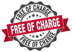 Free of charge stamp. sign. seal Piirros