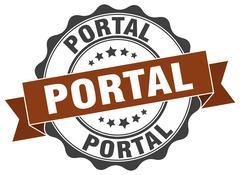 Portal stamp. sign. seal Piirros
