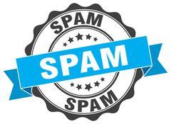 Spam stamp. sign. seal Stock Illustration