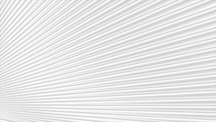 Grey white stripes pattern motion background Stock Footage
