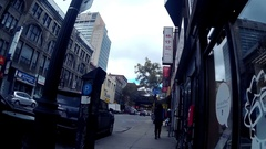 Walking in Montreal - China town - gopro Arkistovideo