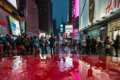 Broadway Street in New York Stock Photos
