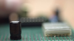Wacky developer can not insert microchip. Stock Footage