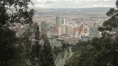 Cable Car Ride Up Stock Footage