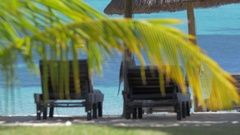 Summer vacation in tropics Stock Footage