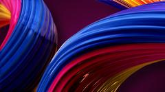 Colored abstraction Stock Illustration