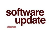 Software update animated word cloud. Stock Footage