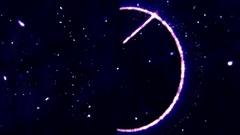 4K Pentagram Symbol with Revealing Satan Face v2 7 Stock Footage