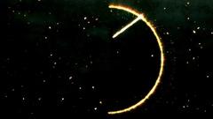 4K Pentagram Symbol with Revealing Satan Face 16 Stock Footage