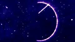 4K Pentagram Symbol with Revealing Satan Face v2 14 Stock Footage