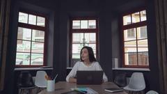 Happy employees enjoy excellent work Arkistovideo