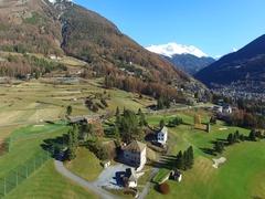 Village of Bormio - Valtellina Stock Footage