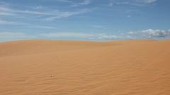 Mui Ne sand dunes Stock Footage