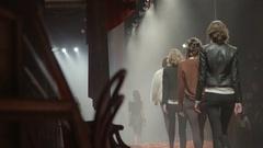 Fashion Show Rehearsal Stock Footage