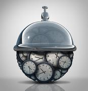 Time Service Concept Stock Illustration