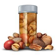 Nuts Medicine Concept Stock Illustration