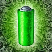 Battery Technology Symbol Stock Illustration