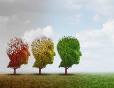 Dementia Treatment Stock Illustration
