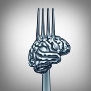 Brain Food Symbol Stock Illustration