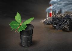Pollution Conservation Hope Concept Stock Illustration