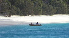 Whitehaven Beach, Tropical Landscape, Beach, People, Stock Footage