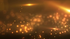 Fantasy space fly through cosmos nebula bright lights Stock Footage