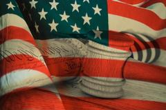 United States Declaration of Independence Stock Photos