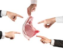 Negative judgment for Meat Stock Photos