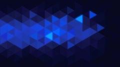 Triangular Glow Stock Footage