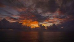 Sunset on the island. Bali. One of the most enjoyable entertainment on the Stock Footage
