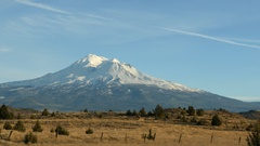 Mt. Shasta Stock Footage