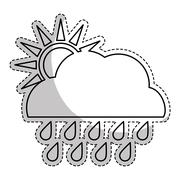 Weather related icon image Stock Illustration