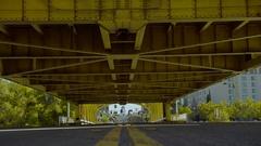 Sacramento Tower Bridge Lowering Stock Footage