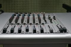 Audio Mixing Console Stock Photos