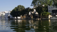 Lake Pichola - Udaipur, Rajasthan, India Stock Footage