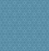 Neutral Seamless Linear Flourish Pattern. Stock Illustration