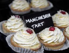 Manchester Tarts. Stock Photos