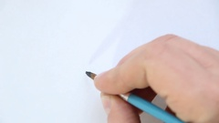 Travel hand drawn lettering Stock Footage