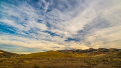 4K Painted Hills Overlook Mitchell OR Stock Footage