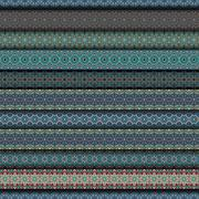 Colorful tribal vintage ethnic seamless pattern Piirros