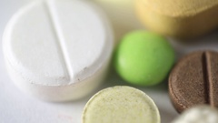 Medication Pills Stock Footage
