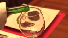 Food and Wine Stock Footage