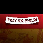 Vector Pray for Berlin concept Stock Illustration