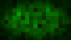 Green Black Fading Square Blocks Background Animation Stock Footage