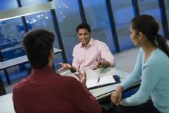 India, Business people on meeting in office Kuvituskuvat