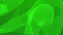 Abstract green flowing soft dream curves background Stock Footage
