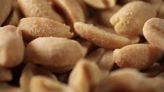 Roasted Groundnut Snack Food Stock Footage