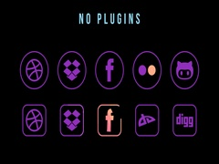 Animated Social Media Icons Stock After Effects