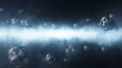 Meteor Shower Stock Footage