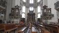 4k Baroque dome cathedral Salzburg Austria indoor tilt up 4k or 4k+ Resolution